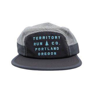 TERRITORY RUN CO. LONG HAUL CAP(PORTLAND SLATE) メンズ・レディース ランニング メッシュキャップ