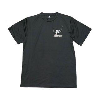 ELDORESO(エルドレッソ) Advent Boneman T(Black) メンズ・レディース ドライ半袖Tシャツ