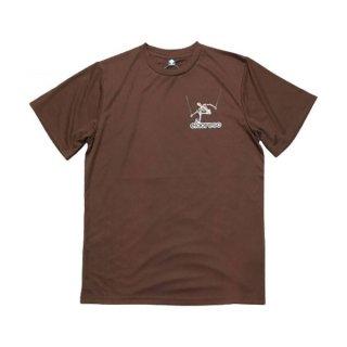 ELDORESO(エルドレッソ) Advent Boneman T(Brown) メンズ・レディース ドライ半袖Tシャツ