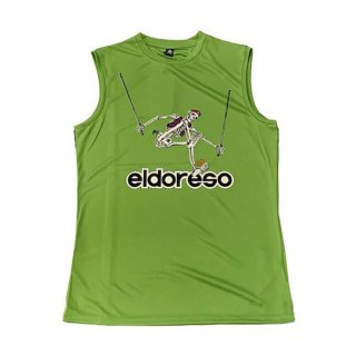 ELDORESO(エルドレッソ) Advent Boneman Sleeveless T メンズ・レディース ドライ ノースリーブシャツ
