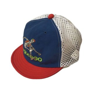 ELDORESO(エルドレッソ) Advent Boneman Cap(Blue) メンズ・レディース メッシュキャップ