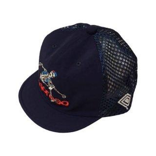 ELDORESO(エルドレッソ) Advent Boneman Cap(Navy) メンズ・レディース メッシュキャップ