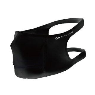 McDavid(マクダビッド) スポーツフェイスマスク オープンエア(ブラック) アスリートのためのスポーツマスク