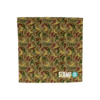 STAMP RUN&CO STAMP HALF NECK GAITER (BANANA&RUNNER CAMO メンズ・レディース マルチウォーマー
