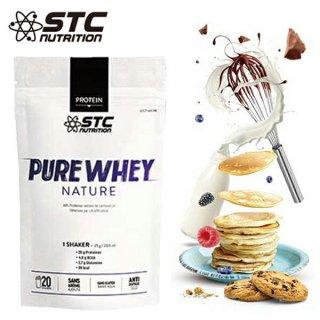 STC NUTRITION(STCニュートリション) PURE WHEY NATURE(ピュアホエイネイチャー)  プロテイン人工甘味料・香料無添加 グルテンフリー