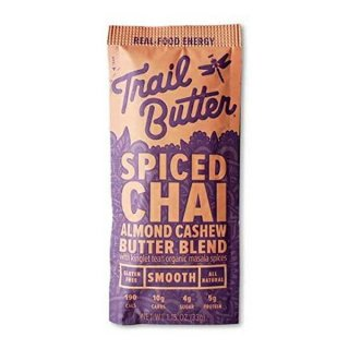 Trail Butter(トレイルバター) スパイスド・チャイ 1.15oz オールナチュラル・グルテンフリーの体に優しい補給食
