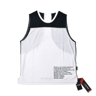 MMA マウンテンマーシャルアーツ MMA Racing Sleeveless (Panda) メンズ ドライノースリーブシャツ