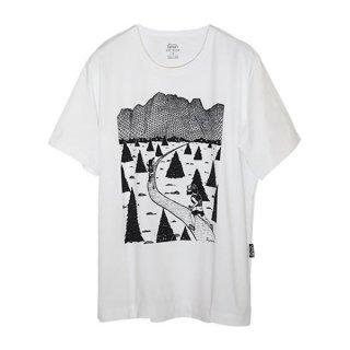 Ranor(ラナー) TR PRINTING T-SHIRTS メンズ・レディース 半袖Tシャツ