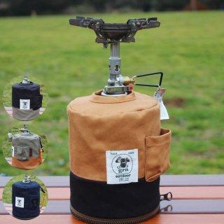 grn ジーアールエヌ HIASOBI CAMPER COVER500 ガス管カバー GO0412Q500【ガス缶 OD缶 バーナー ランタン BBQ キャンプ用品 outdoor アウトドア】