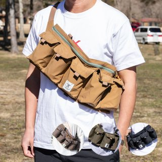 grn ジーアールエヌ TEBURA BAG SHU-RAMBO メンズ・レディース 手ぶら ショルダーバッグ GO0415Q【かばん ウエストバッグ キャンプ用品 outdoor アウトドア】