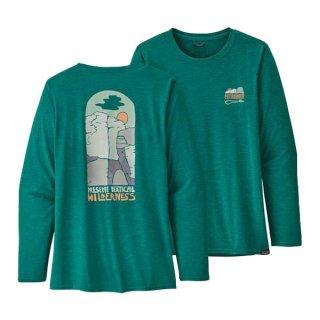 patagonia(パタゴニア) ウィメンズ・ロングスリーブ・キャプリーン・クール・デイリー・グラフィック・シャツ レディース 長袖シャツ