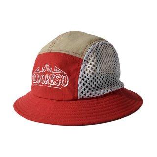 ELDORESO(エルドレッソ) Juma Hat(Red) E7100211 メンズ・レディース メッシュ素材ハット