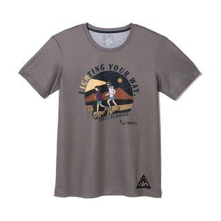 milestone×STAMP RUN & CO.(マイルストーン×スタンプランアンドコー) original T-shirts GLAY コラボTシャツ メンズ・レディース ドライ半袖Tシャツ