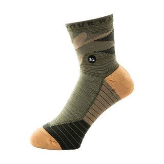 milestone(マイルストーン) MSS-001 original Socks(オリジナルソックス) メンズ・レディース ミドル丈ランニングソックス