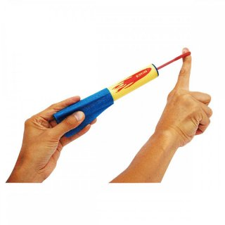 SOFTOYS Fling Shotz(フリングショット)ロケット フライングトイシリーズ【子供 キッズ 男の子 女の子 飛行機型 おもちゃ コンパクト 軽量 アウトドア TRYL】
