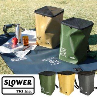SLOWER スロウワー HANG STOCK MULTI BASKET SLW134/SLW135/SLW136【防水 収納ケース 収納ボックス ゴミ箱 コンパクト キャンプ用品 アウトドアギア】
