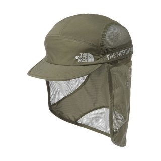 THE NORTH FACE ノースフェイス Run Shield Cap(ランシールドキャップ) メンズ・レディース シェード付きランニング メッシュキャップ