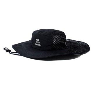 ELDORESO(エルドレッソ) Mekonnen Hat(Black) メンズ・レディース メッシュ素材ハット