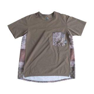 ranor(ラナー) BANDANA T-SHIRT メンズ・レディース 半袖Tシャツ