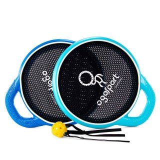 OgoSport オゴスポーツ オゴディスクグリップ(OGODISK GRIP) ディスク2枚+ボール1個(フラックスボール)【おもちゃ 玩具 キャンプ用品 アウトドア レジャー】