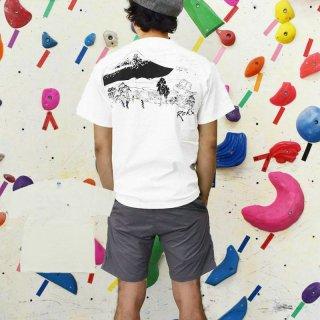 ROKX ロックス メンズ UKIYOE FUJI TEE ウキヨエ フジ Tシャツ RXMS214014【半袖 カットソー 登山 キャンプ用品 ソロキャンプ アウトドアファッション】