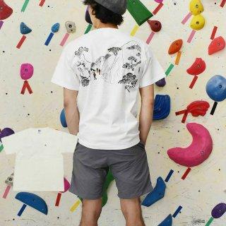 ROKX ロックス メンズ UKIYOE TREKING TEE ウキヨエ トレッキング Tシャツ RXMS214015【半袖 カットソー 登山 キャンプ用品 ソロキャンプ アウトドア】
