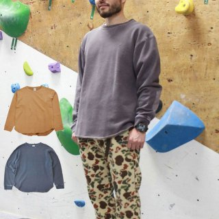 ROKX ロックス メンズ・レディース COTTONWOOD SWEAT CREW コットンウッド スウェットクルー RXMF204121【長袖 Tシャツ ロンT キャンプ用品 アウトドア】