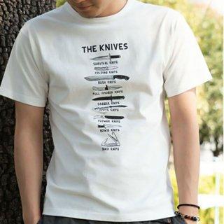 ROKX ロックス メンズ・レディース THE KNIVES TEE Tシャツ RXMS204092【半袖 カットソー 登山 キャンプ用品 ソロキャンプ アウトドアファッション】