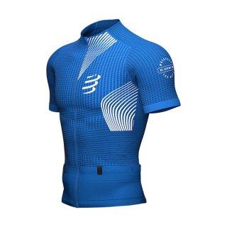 ★COMPRESSPORT(コンプレスポーツ) トレイル ポスチュラル SS トップ メンズ ジップ Tシャツ