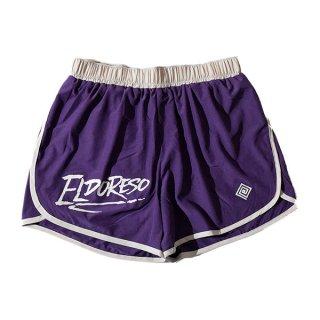 ELDORESO(エルドレッソ) Densamo Shorts(Purple) E2104111 メンズ・レディース インナーパンツ付きショートパンツ