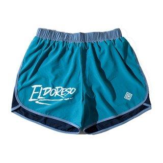 ELDORESO(エルドレッソ) Densamo Shorts(BlueGreen) E2104111 メンズ・レディース インナーパンツ付きショートパンツ