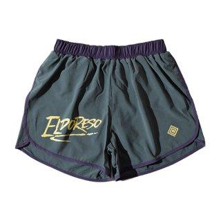 ELDORESO(エルドレッソ) Densamo Shorts(Olive) E2104111 メンズ・レディース インナーパンツ付きショートパンツ
