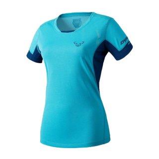 DYNAFIT ディナフィット Vert T-Shirt Women Silvretta レディース ドライ 半袖シャツ