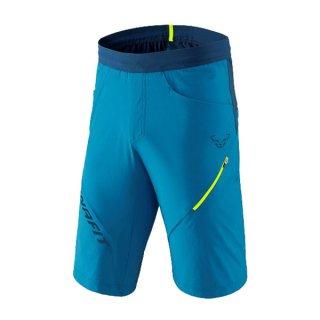 DYNAFIT ディナフィット Transalper Hybrid Shorts Men MykonosBlue メンズ ミドル丈ショートパンツ