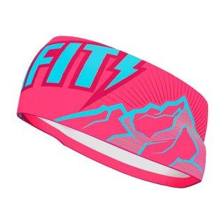 DYNAFIT ディナフィット Graphic Performance Headband Fluo pink peak メンズ・レディース ヘッドバンド