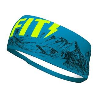 DYNAFIT ディナフィット Graphic Performance Headband Mykonos blue mountains メンズ・レディース ヘッドバンド