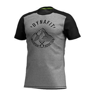 DYNAFIT ディナフィット Transalper Light T-Shirt Men Black Out Since1950 メンズ ドライ 半袖シャツ