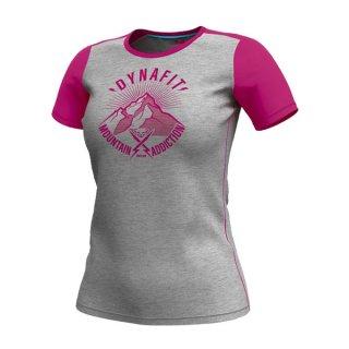 DYNAFIT ディナフィット Transalperlight T-Shirt Women bLipstick since1950 レディース ドライ 半袖シャツ