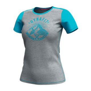 DYNAFIT ディナフィット Transalperlight T-Shirt Women Silvretta since1950 レディース ドライ 半袖シャツ