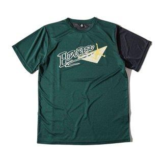 ELDORESO(エルドレッソ) Endangered T(Green) E1006211 メンズ・レディース ドライ半袖Tシャツ