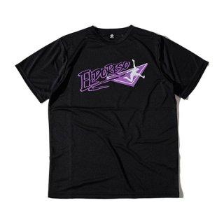 ELDORESO(エルドレッソ) Endangered T(Black) E1006211 メンズ・レディース ドライ半袖Tシャツ