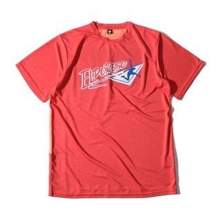 ELDORESO(エルドレッソ) Endangered T(Red) E1006211 メンズ・レディース ドライ半袖Tシャツ