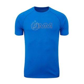 OMM オリジナルマウンテンマラソン Bearing Tee S/S Blue Compass メンズ 半袖Tシャツ