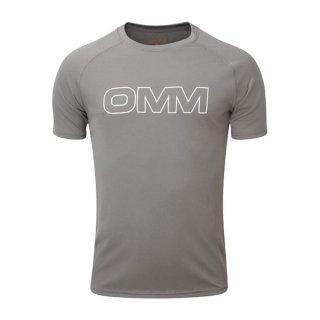 OMM オリジナルマウンテンマラソン Bearing Tee S/S Grey メンズ 半袖Tシャツ