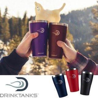DrinkTanks ドリンクタンクス 16oz(473ml) Cup【真空断熱 タンブラー マイカップ コップ ステンレス 保温 保冷 ビール コーヒー 登山 キャンプ アウトドア】