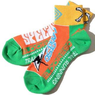 ELDORESO(エルドレッソ) Endangered Sox(Orange) E7601411 メンズ・レディース ランニングソックス