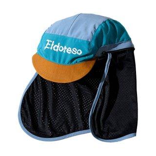 ELDORESO(エルドレッソ) Shade Cap(BlueGreen) E7005911 メンズ・レディース シェード付きランニングキャップ