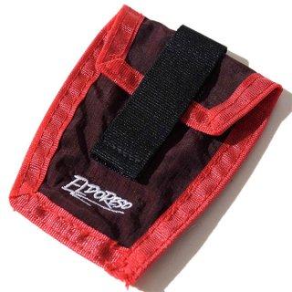 ELDORESO(エルドレッソ) Shoe Pouch(Burgundy) E8900111 シューレースに装着して使用するナイロン素材のポーチ