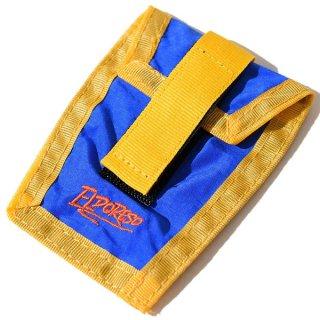 ELDORESO(エルドレッソ) Shoe Pouch(Blue) E8900111 シューレースに装着して使用するナイロン素材のポーチ