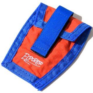 ELDORESO(エルドレッソ) Shoe Pouch(Orange) E8900111 シューレースに装着して使用するナイロン素材のポーチ